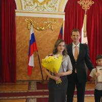 Лауреат губернаторской премии