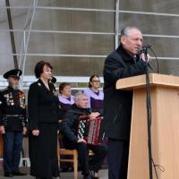 Участники митинга почтили память жертв трагедии на Зеленой минутой молчания