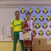Артем - победитель первенства России по боксу