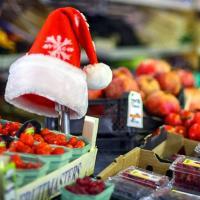 Работа рынка в Новогодние каникулы