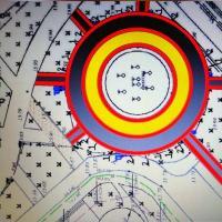 Выбираем дизайн тротуара у фонтана