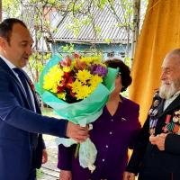 Кущёвские ветераны принимают поздравления