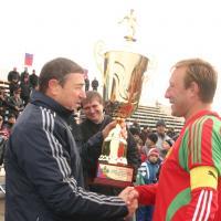 Мартин - победитель Кубка губернатора по футболу