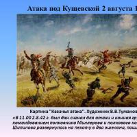 Сегодня 76-ая годовщина знаменитой атаки под Кущёвской