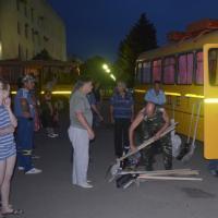 Отряд волонтеров отправляется в Крымск