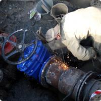 Промывка водопроводных сетей