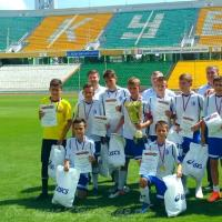 Кущёвские юные динамовцы завоевали футбольный Кубок губернатора