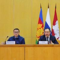 В Кущёвской обсудили безопасность Новогодних праздников